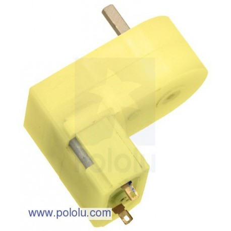 Pololu 1594 - 180:1 Mini Plastic Gearmotor Offset 3mm D-Shaft Output