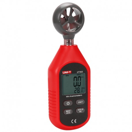 UT363 - Wind meter with temperature measurement by Uni-T