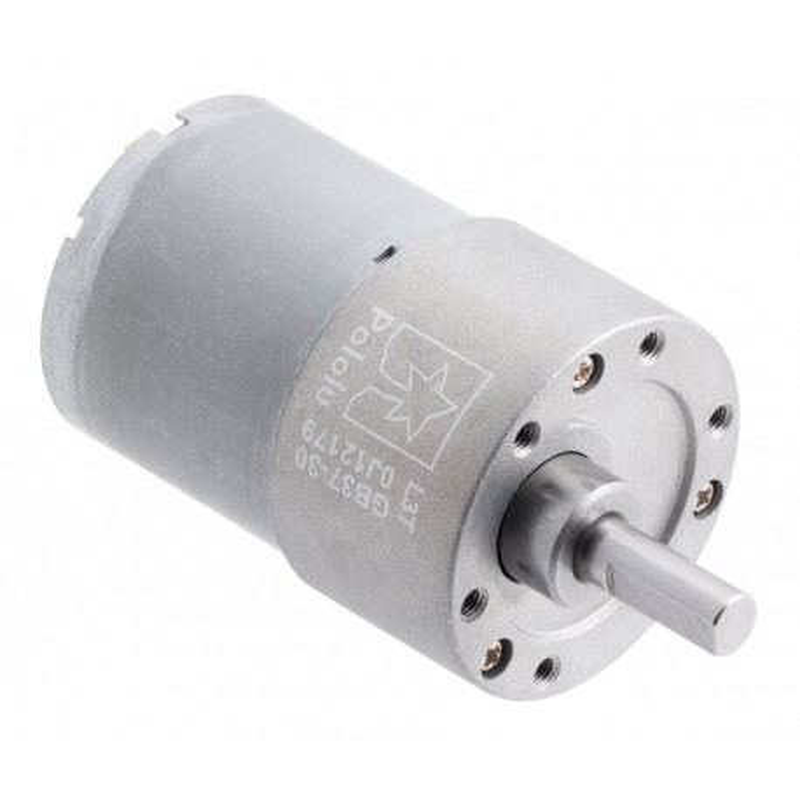 30:1 12V 37Dx52L - silnik z metalową przekładnią