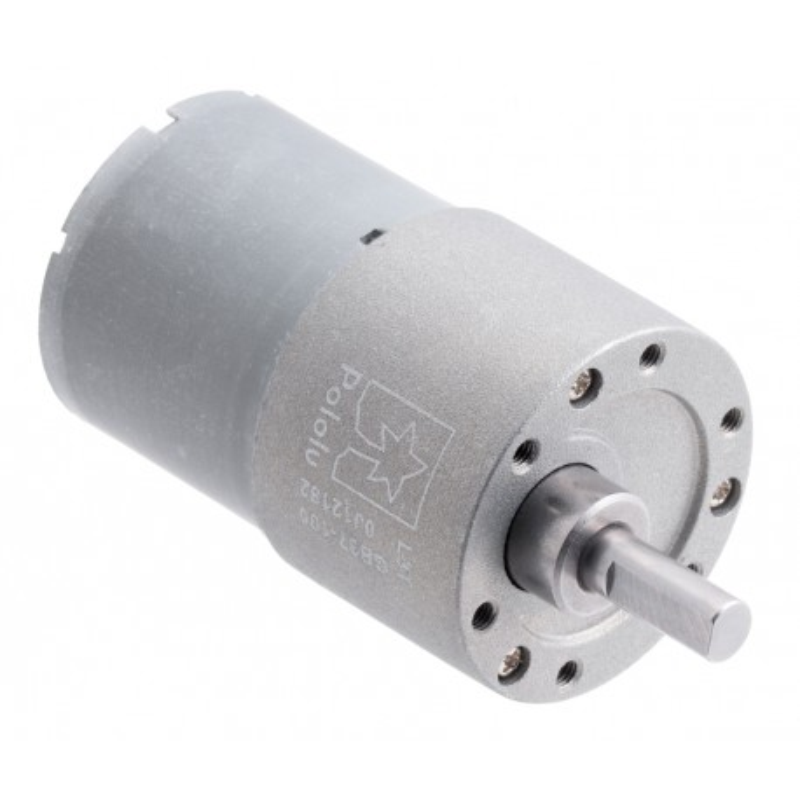 131:1 12V 37Dx57L - silnik z metalową przekładnią