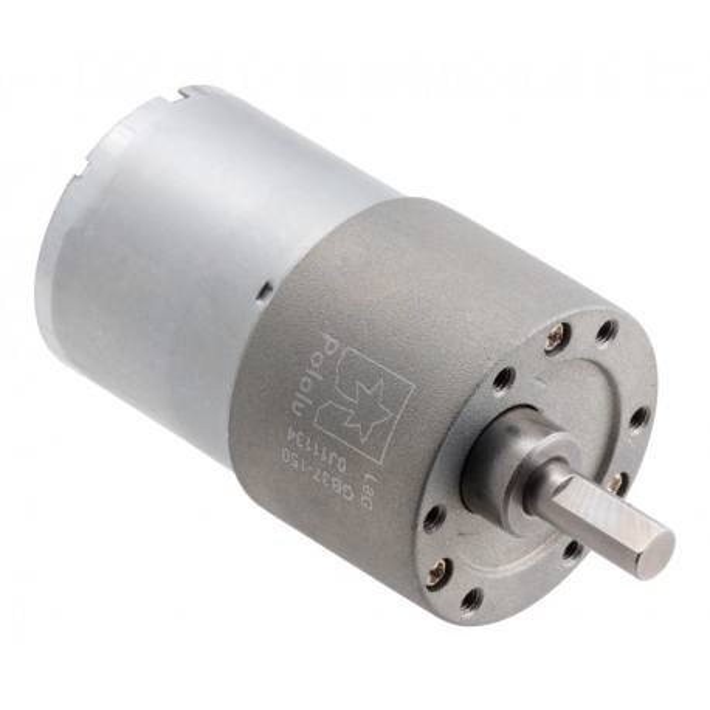 150:1 12V 37Dx57L - silnik z metalową przekładnią