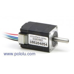 Pololu 1204 - Stepper Motor: Bipolar, 200 Steps/Rev, 20x30mm, 3.9V, 600mA