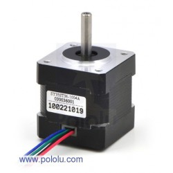 Pololu 1209 - Stepper Motor: Bipolar, 200 Steps/Rev, 35x36mm, 2.7V, 1000mA