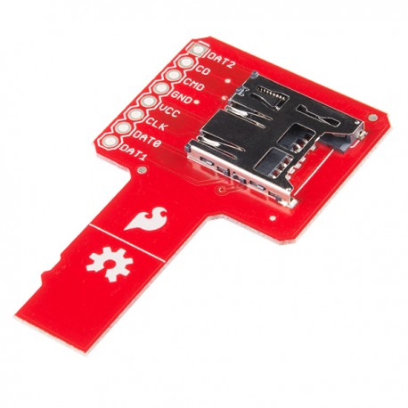 microSD Sniffer - adapter for analyzing signals from the SD card