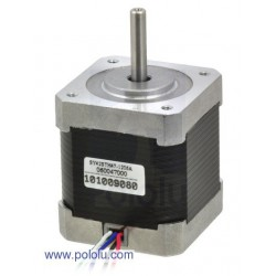 Pololu 1200 - Stepper Motor: Unipolar/Bipolar, 200 Steps/Rev, 42x48mm, 4V, 1200mA