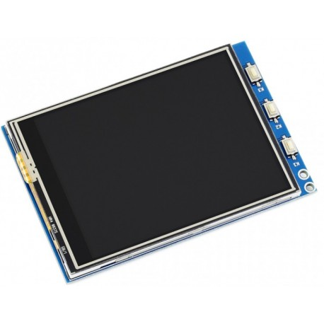 """3.2inch RPi LCD (C) - TFT 3.2"""" LCD display with touch screen for Raspberry Pi"""