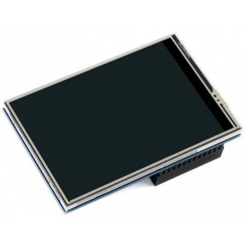 """3.5inch RPi LCD (C) - wyświetlacz LCD TFT 3,5"""" z ekranem dotykowym dla Raspberry Pi"""