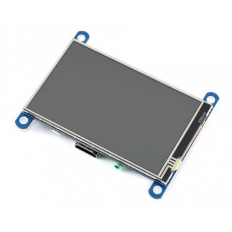 """4inch HDMI LCD (H) - IPS 4"""" LCD display with touch screen for Raspberry Pi"""