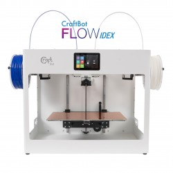 CraftBot Flow IDEX - 3D printer with two independent extruders