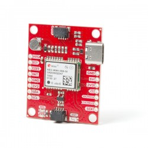 Qwiic GPS Breakout - moduł GPS z układem NEO-M9N (antena chipowa)