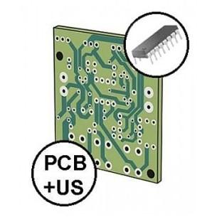 Koszyk na 3 baterie AA R6 z klapką i włącznikiem