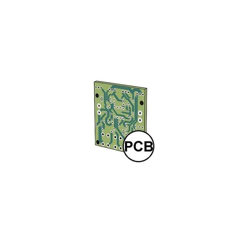 Koszyk na 4 baterie AA R6 z klapką i włącznikiem