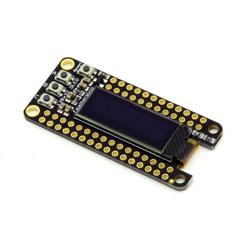Transparent Graphical OLED Breakout - moduł z przezroczystym wyświetlaczem OLED