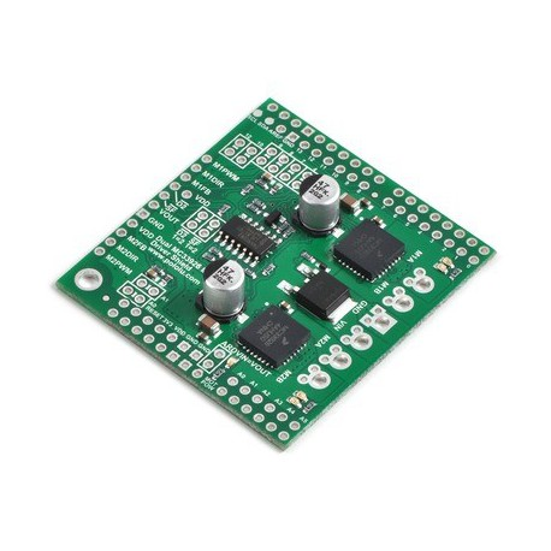 Pololu 2503 - Pololu Dual MC33926 Motor Driver Shield for Arduino