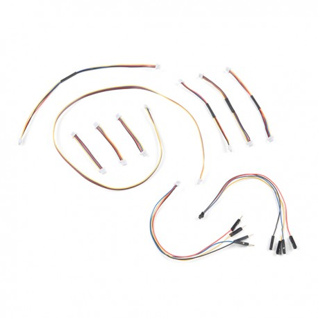Qwiic Cable Kit - Qwiic cable kit 10 pcs