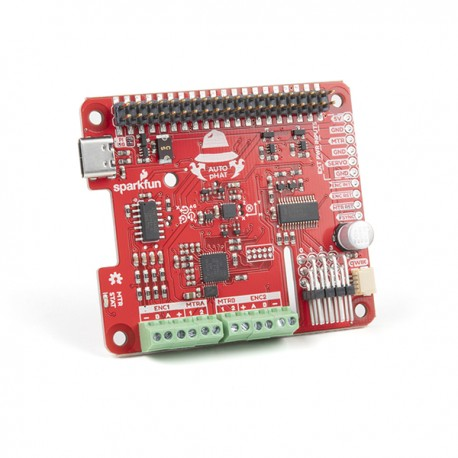 Qwiic Auto pHAT - multifunctional expansion module for Raspberry Pi