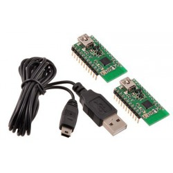 Pololu 1338 - Wixel Pair (Fully Assembled) + USB Cable