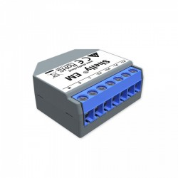 Shelly EM - 2-channel energy meter with WiFi