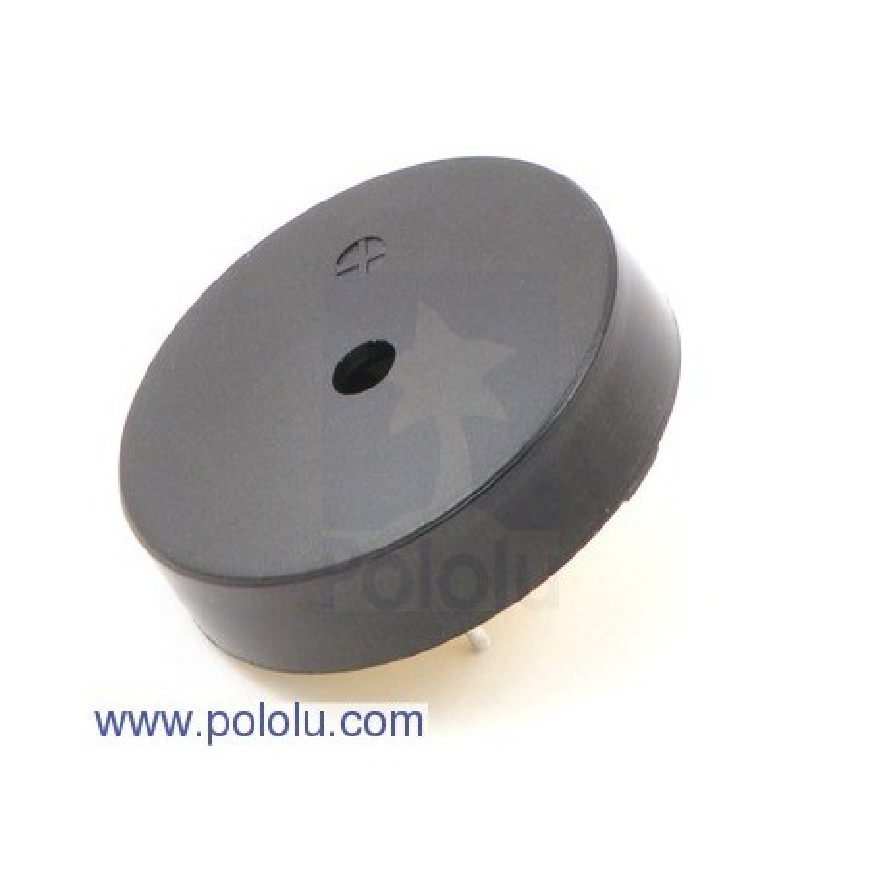Pololu 1260 - 30mm Piezo Buzzer: 1-30V