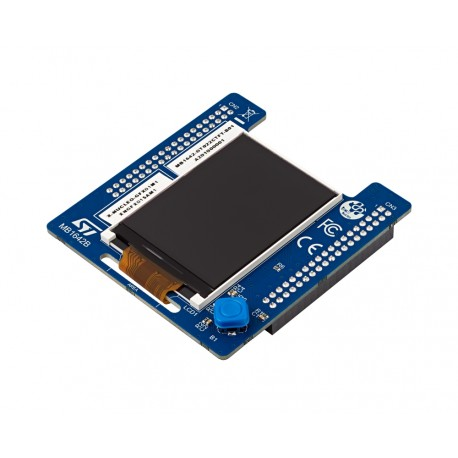 X-NUCLEO-GFX01M1 - expansion board with LCD TFT 2.2""