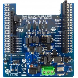 X-NUCLEO-OUT08A1 - expansion board with digital outputs for STM32 Nucleo