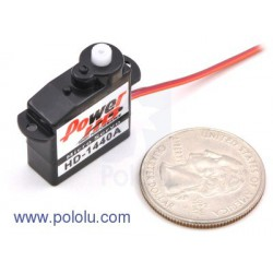Pololu 1040 - Power HD Sub-Micro Servo HD-1440A