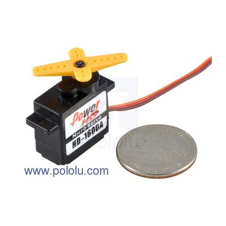 Pololu 2145 - Power HD Micro Servo HD-1600A