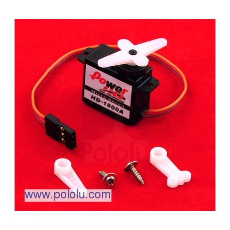 Pololu 1049 - Power HD Micro Servo HD-1800A