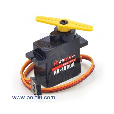 Pololu 1050 - Power HD Micro Servo HD-1900A