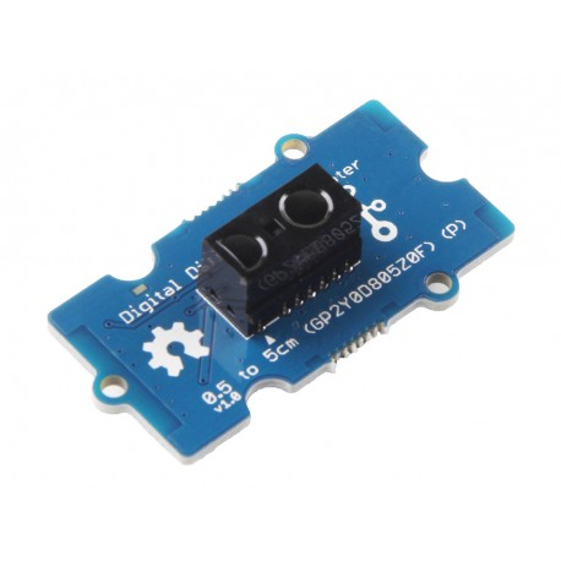 Grove Digital Distance Interrupter (P) - module with GP2Y0D805Z0F proximity sensor 0.5-5cm