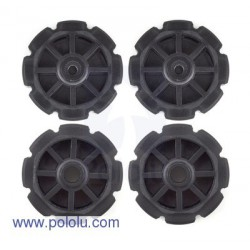 Pololu 358 - Injection-Molded Sprocket Set 8T Futaba
