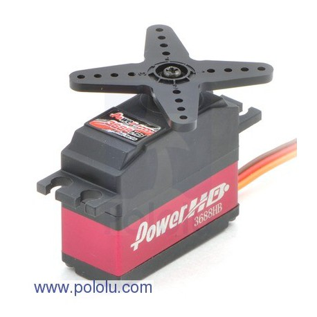 Pololu 1055 - Power HD Mini High-Speed Digital Servo 3688HB