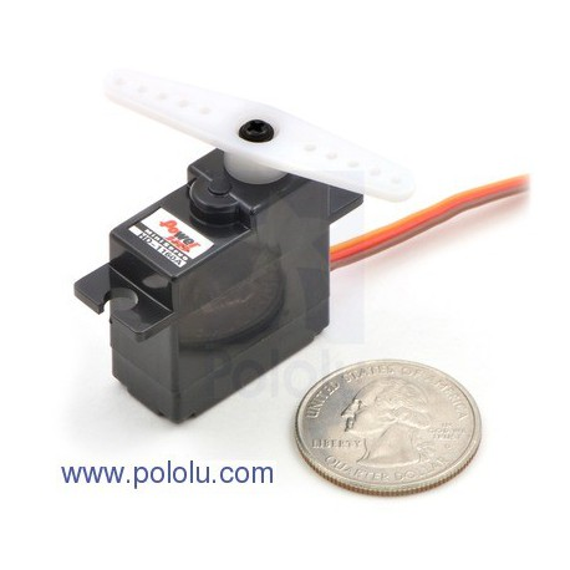 Pololu 1046 - Power HD Mini Servo HD-1160A