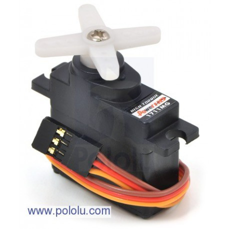 Pololu 2144 - Power HD Mini Servo HD-1711MG