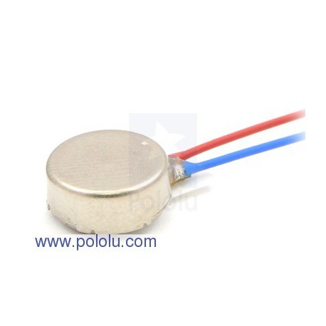 Pololu 1637 - Shaftless Vibration Motor 8x3.4mm