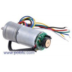 Pololu 2286 - 75:1 Metal Gearmotor 25Dx54L mm with 48 CPR Encoder