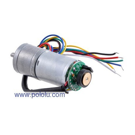 Pololu 2288 - 172:1 Metal Gearmotor 25Dx56L mm with 48 CPR Encoder