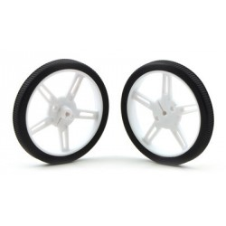 Pololu 1424 - Pololu Wheel 60x8mm Pair - White