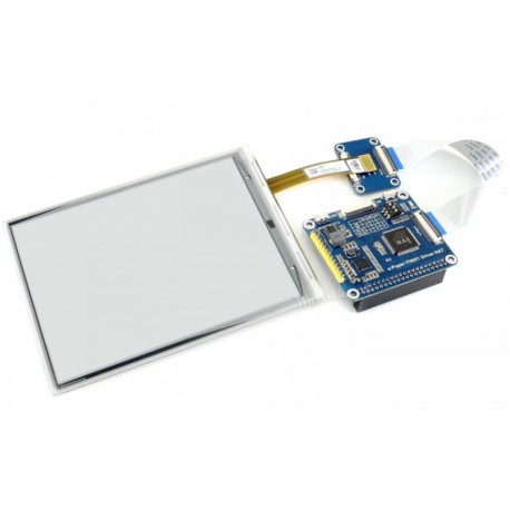 """6inch e-Paper HAT- module with e-Paper 6"""" 800x600 display for Raspberry Pi"""