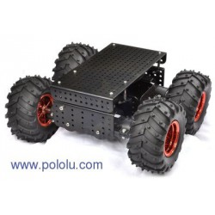 Podwozie Dagu Wild Thumper 4WD, czarne, 34:1