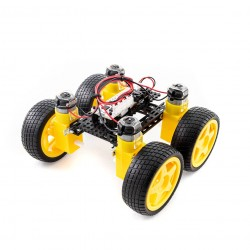 Totem 4WD Car Chassis Kit - a set for building a four-wheeled mobile platform