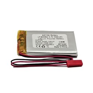 Akumulator Li-Po Akyga 3,7V/800mAh, konektor+gniazdo 2,5 JST-RCY