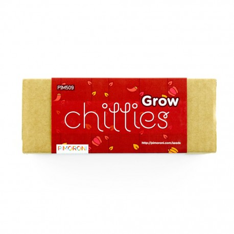 Grow Kit + Chilli Pack - soil moisture control kit with chilli seeds