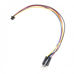 Qwiic 4-pin male cable with JST-SH plug, 150 mm (flexible)