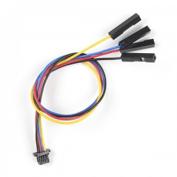 Qwiic 4-pin female cable with JST-SH plug, 150 mm (flexible)