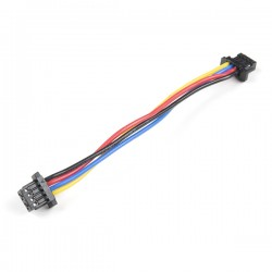Qwiic 4-pin female-female cable, 50mm (flexible)