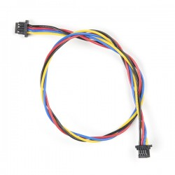 Qwiic 4-pin female-female cable, 200mm (flexible)