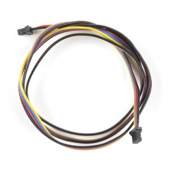 Qwiic 4-pin female-female cable, 500mm (flexible)