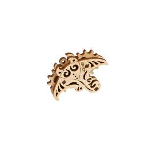 Connecting cables M-M multi-colored 10 cm - 40 pcs.