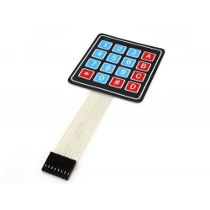 ModKB4x4 - Moduł klawiatury matrycowej 4x4